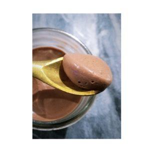 mousse chocolat végétale
